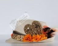 Leoparlı Flip Flop Şapka