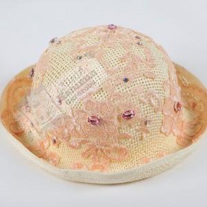 Pudra Dantelli Şapka
