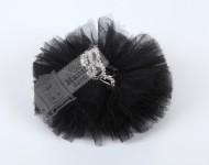 Prenses Taçlı Siyah Klips Toka