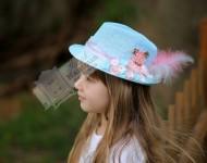 Ayıcıklı Mavi Şapka
